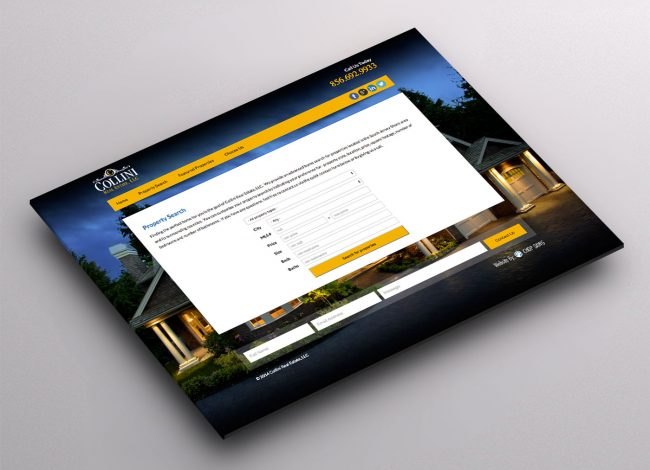 Housing Website Design