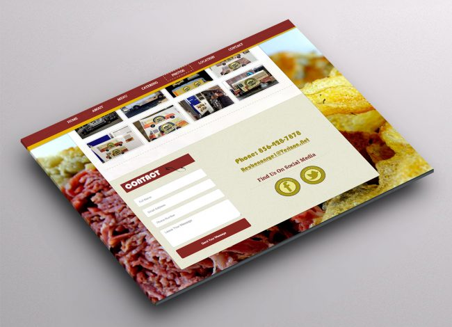 Food Cart Website