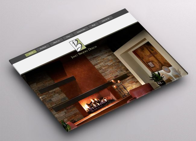 Website Design for Interior Design