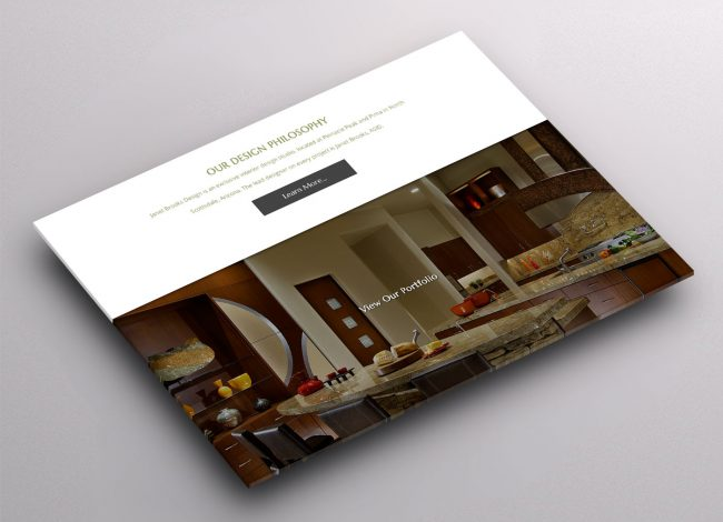 Custom Wordpress Site for Interior Designer