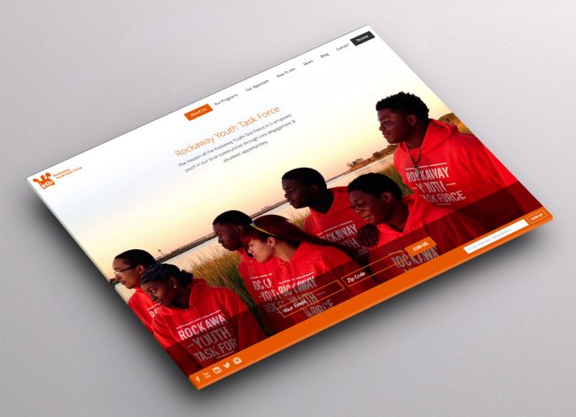 Responsive Donation Website