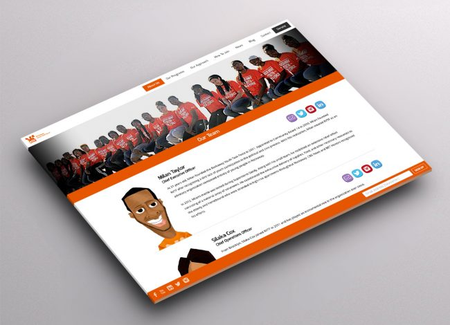 NPO Website Design