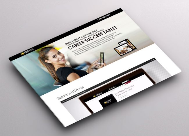 Wordpress Landing Page Design