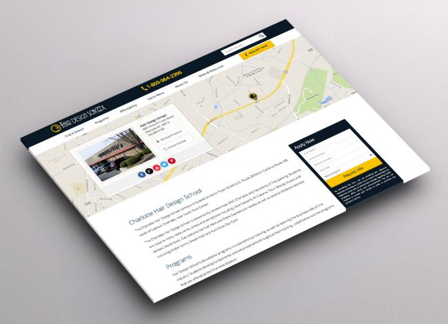 Multi Location Website